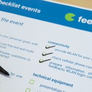 feedbackr events checklist